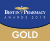 Best in Pharmacy awards 2019 logo
